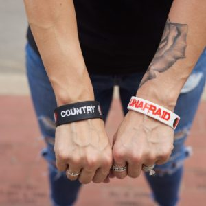 Stickers and Bands